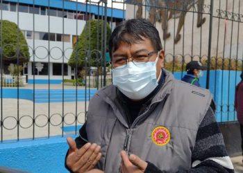 David Sucacahua señala que ya no son necesarias las plantas de oxígeno medicinal