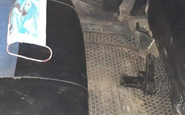 Tras ser baleado, taxista se salvó de ser despojado de sus pertenencias