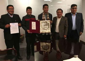Vicegobernador y consejeros se reúnen con autoridades bolivianas para importar gas