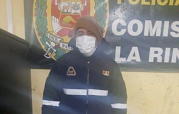 Sujeto es detenido por intentar violar a menor de edad en La Rinconada