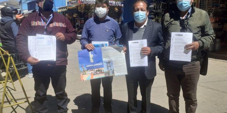 Consejeros piden a Castillo acelerar la firma del convenio de GLP con Bolivia