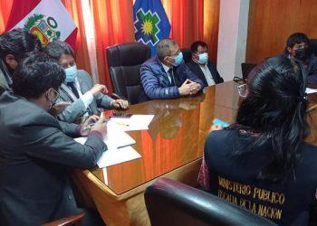Fiscalía en Delitos de Corrupción intervino el GORE por modificación presupuestal
