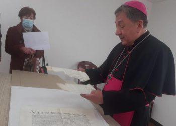 Inauguran archivo histórico eclesial de la Diócesis San Carlos Borromeo de Puno