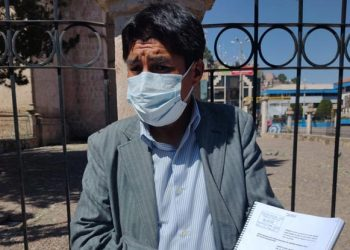 Exigen la suspensión de Agustín Luque por 120 días y esperan que JNE actúe