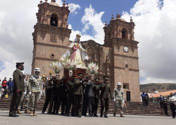 Fuerzas armadas conmemoraron su día junto a su patrona Virgen de las Mercedes