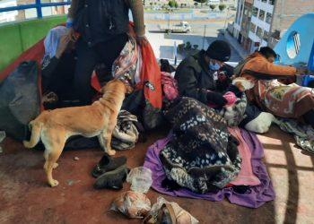 Zozobra por la presencia de extranjeros en la avenida Progreso de la ciudad de Puno