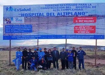 Hospital del Altiplano a merced de empresa china que tiene paralizada la obra del HMNB