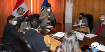 Vicegobernador solicita financiamiento a delegación de Unión Europea