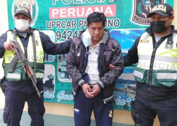 Detienen a varón llevando 9 kilos de droga en una combi de transporte interprovincial