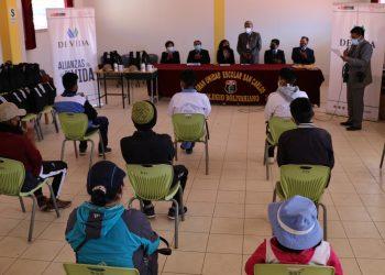 Escolares fortalecieron habilidades psicosociales para prevenir el consumo de drogas