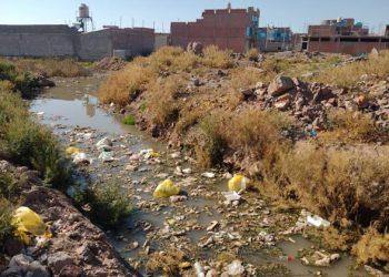 Los Rosales es inundado por aguas residuales a causa de la construcción de la PTAR