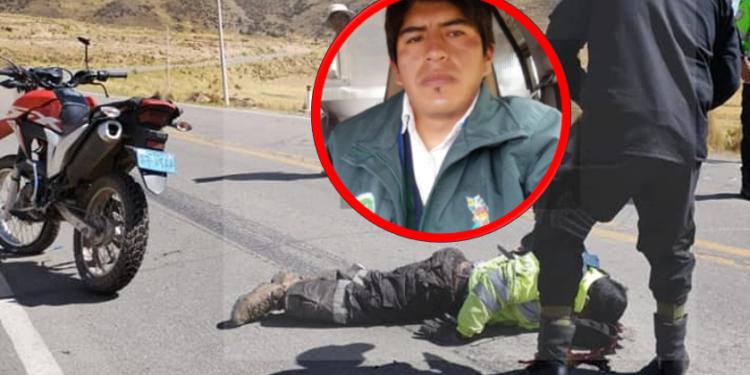 Mueren atropellados, una de las víctimas era trabajador del Gobierno Regional