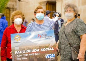 Más de 7 mil profesores recibirán pago de deuda social en la región Arequipa