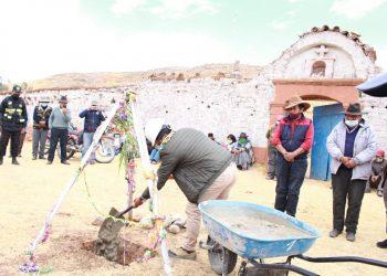Invertirán 277 mil soles en la construcción de cerco perimétrico del cementerio de Nuñoa