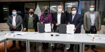 MVCS y UNOPS firman convenio para licitar megaproyecto de agua y saneamiento en Juliaca