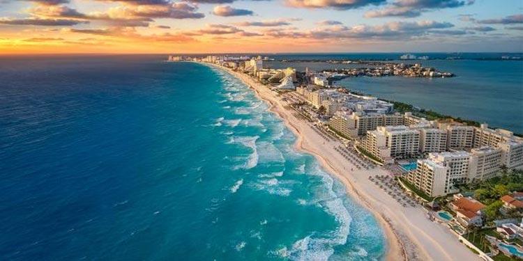 Descubre la belleza tropical de la ciudad caribeña de Cancún en Yucatán, México