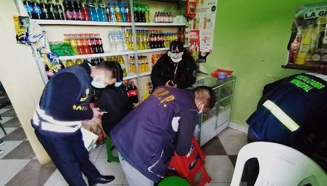Intervienen locales de venta de bebidas alcohólicas y proliferación de la Covid-19
