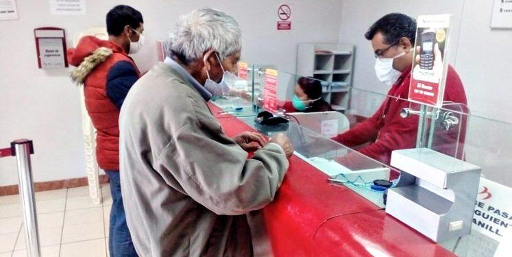 El Bono Yanapay Perú empezará a pagarse desde este lunes 13 de setiembre en bancos