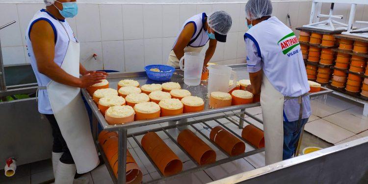 Inauguran e implementan planta quesera en Yanarico-Vilque con 160 mil soles