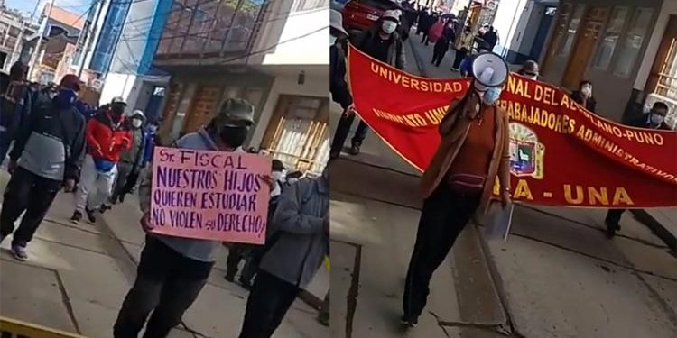 Rechazan denuncia contra exautoridades universitarias por examen de admisión