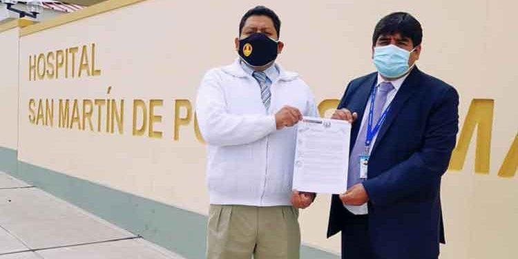Macusani: Designan nuevo director del hospital San Martín de Porres