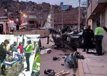 Puno: heridos del accidente en barrio Huáscar presentan múltiples contusiones