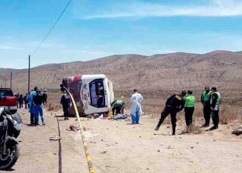 Arequipa: Juzgado ordena prisión preventiva para chofer que causó la muerte de 7 personas