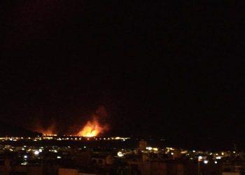 Puno: Incendio forestal desata desgracia en las islas flotantes de los Uros Chulluni