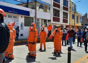 Puno: Ochenta porciento de obreros de construcción civil quedaron desempleados en Pandemia