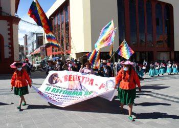 Puno: Colectivos quechuas y aimaras conmemoran día de la resistencia indígena