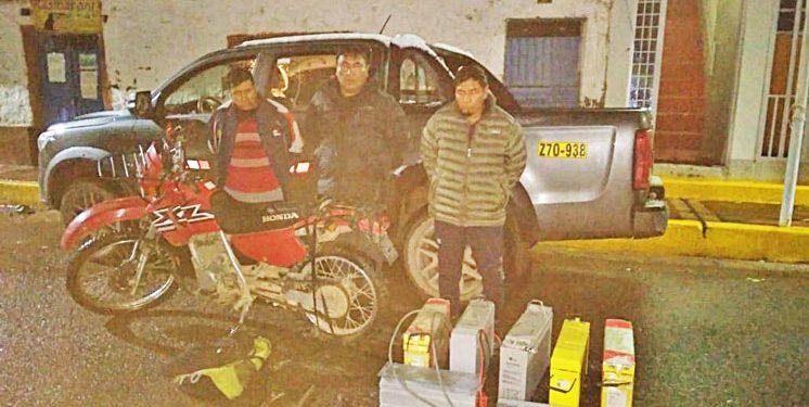 Lampa: Capturan a ladrones que se llevaron bienes del Centro de Salud Chivay