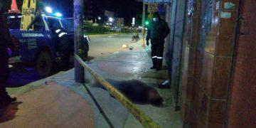 Juliaca: Motociclista fallece tras despistarse en la avenida Circunvalación