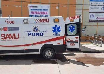 Autoridades sanitarias no se responsabilizan por falta de ambulancias para heridos