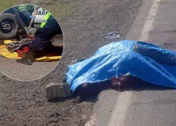 Destrozan cuerpo de varón que fue arrollado y abandonado en la Panamericana Sur