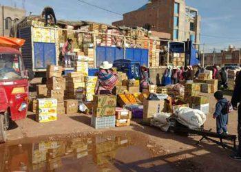 Juliaca: Comuna impide ingreso de comerciantes a la plataforma de Santa María III sector