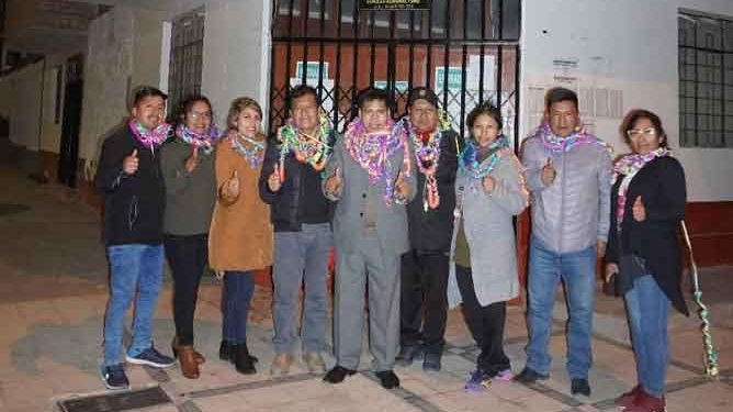 Samuel Vilca es reelegido como decano del Colegio de Periodistas Consejo Regional Puno