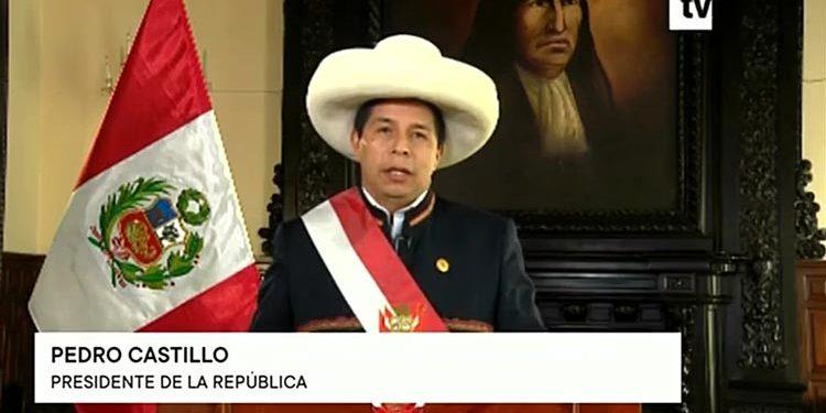 Castillo acepta renuncia de Guido Bellido y anuncia juramentación de un nuevo gabinete