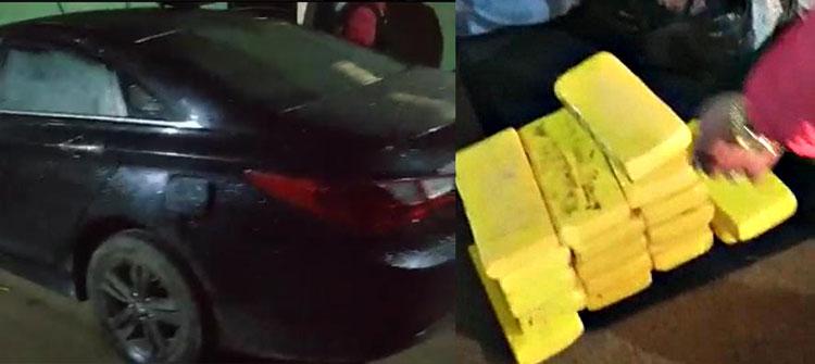 Policías quisieron llevarse vehículo con 90 paquetes de droga en Cabanilla - Lampa
