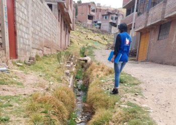 Puno: Defensor del pueblo exige a la municipalidad de Puno limpiar canales pluviales