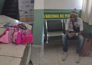 Desaguadero: Extranjero que hurtó prendas de vestir es apresado por policias