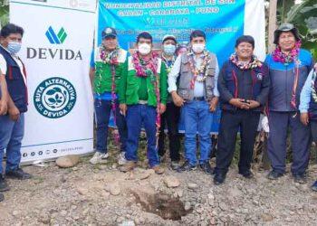Acuicultores de San Gabán reciben asistencia técnica para la crianza de Paco