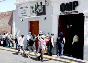 Arequipa: Unos 90 mil aportantes en la región accederán a pensiones