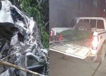 Phara: pobladores encuentran camioneta en un abismo y cuerpo en estado de descomposición
