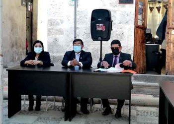 Arequipa: Consejeros serán denunciados penalmente si aprueban la adenda 13