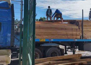 San Gabán: 7 mil pies tablares de madera fueron decomisados en puesto de control