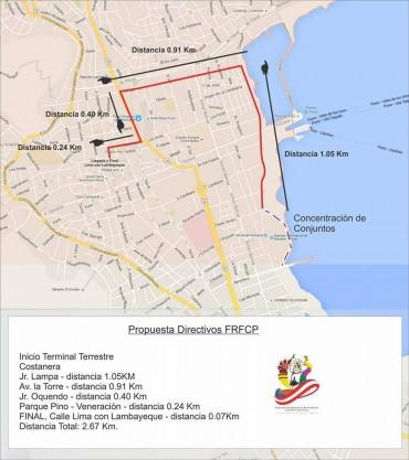 FRFC definió ruta de la Festividad Virgen de la Candelaria de Puno